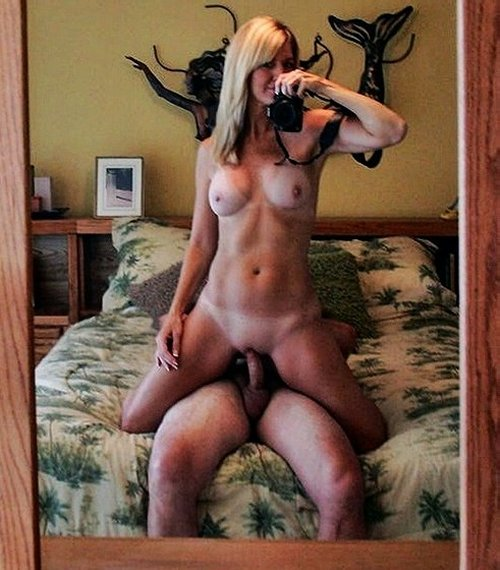 wife taking selfies of herself fucking her lover for her cuckold husband